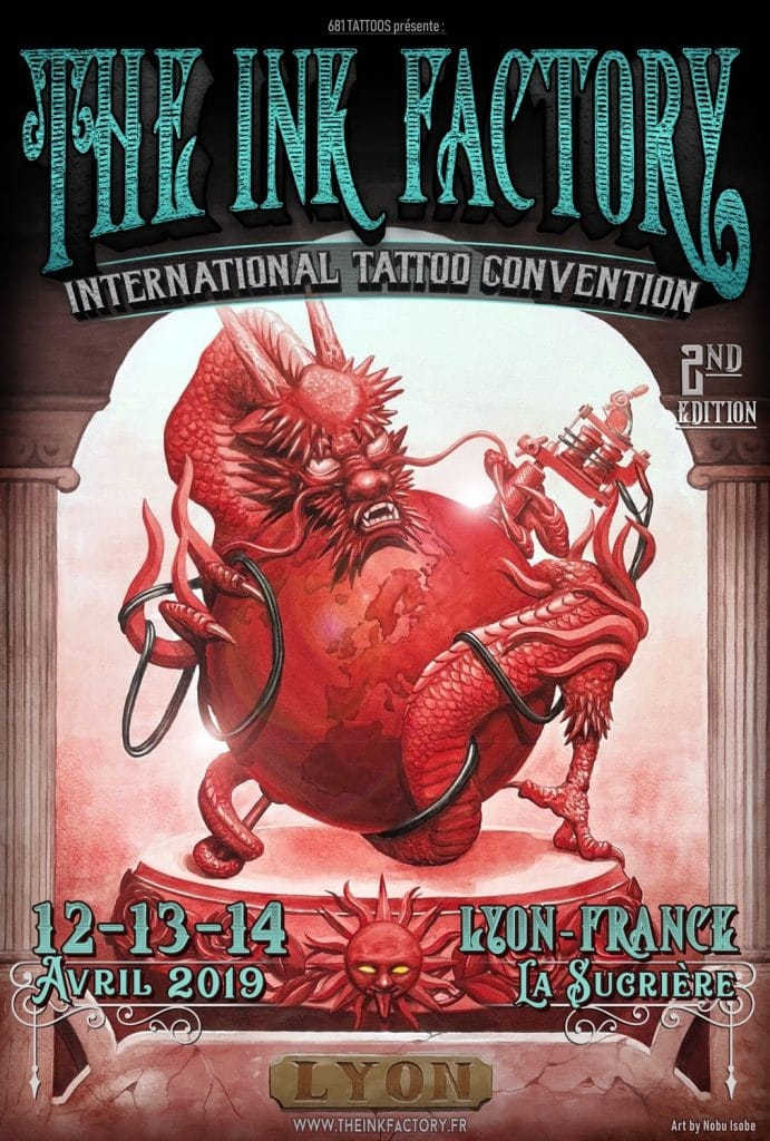 The Ink Factory Lyon – Tattoo art exhibition